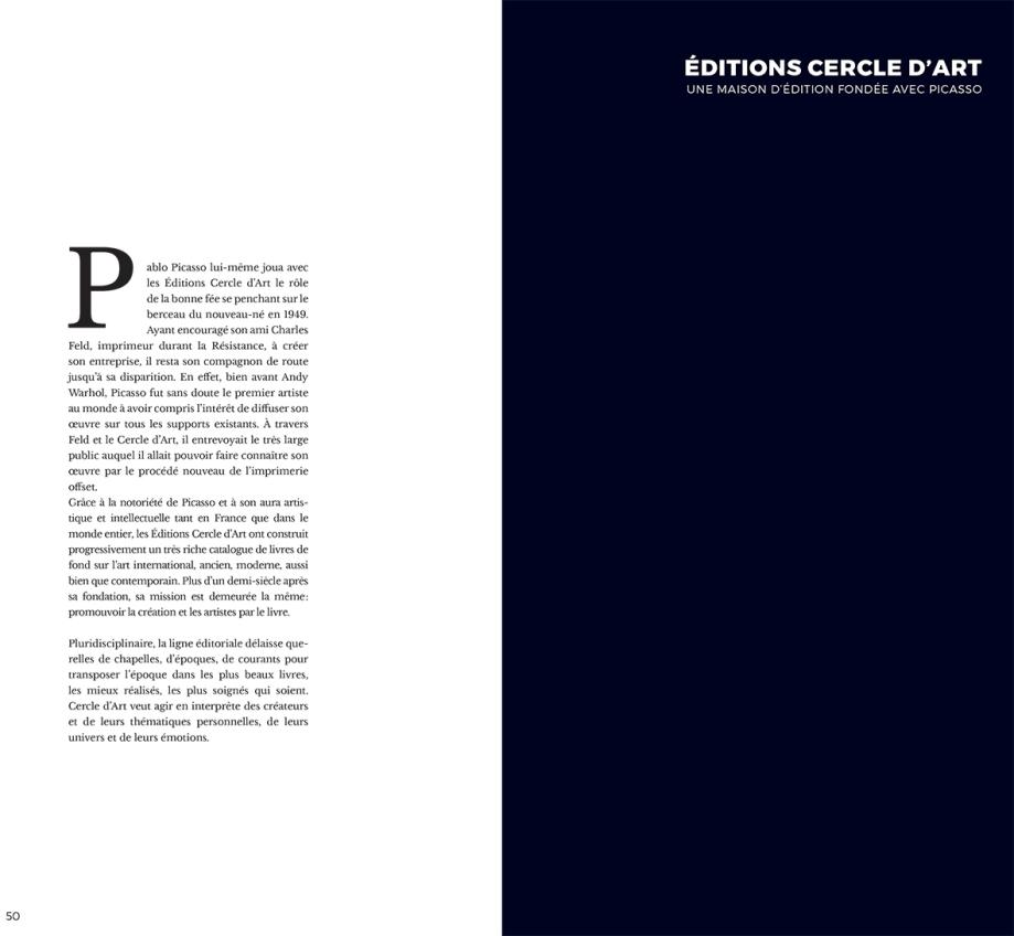 Edition Cercle d art