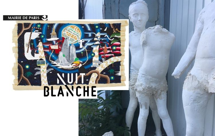 Nuit Blanche Yann PAolozzi