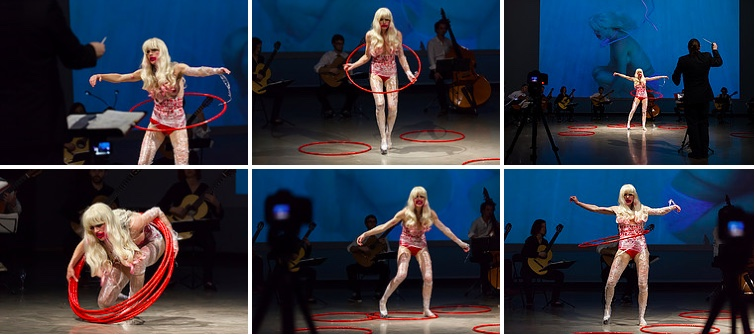 performance Zoé cercle V